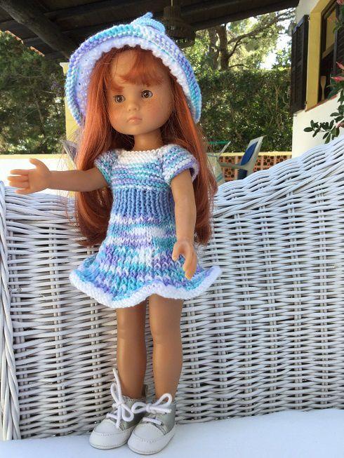 Tenue ANIC pour poupée chéries de corolle.