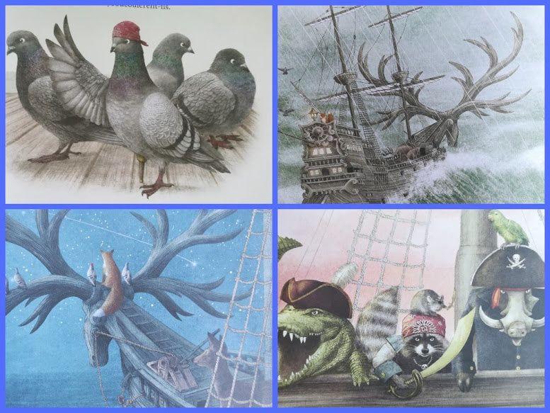 Le fabuleux voyage du bateau-cerf.