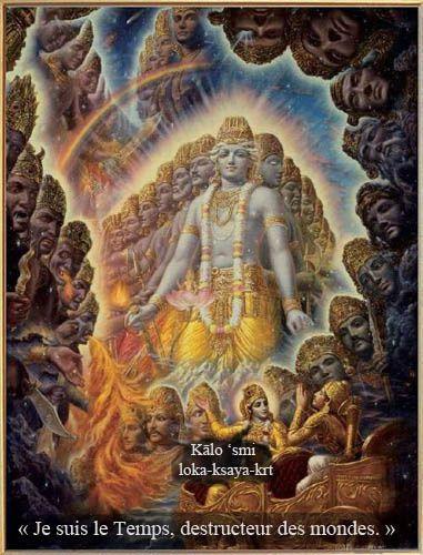 Krishna, la forme universelle