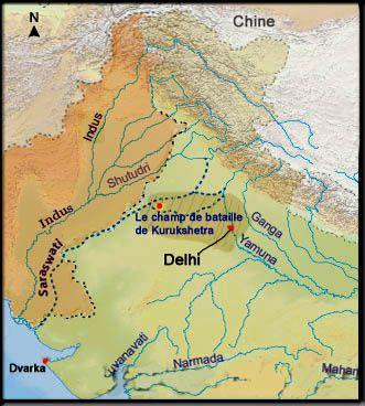 Le pakistan et les rivières Indus et Sarasvati