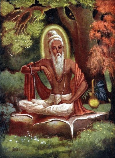 Vyasa,ou de son autre nom Krishna Dvaipāyana