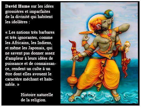 David Hume et la religion. Varaha, avatar de Vishnou