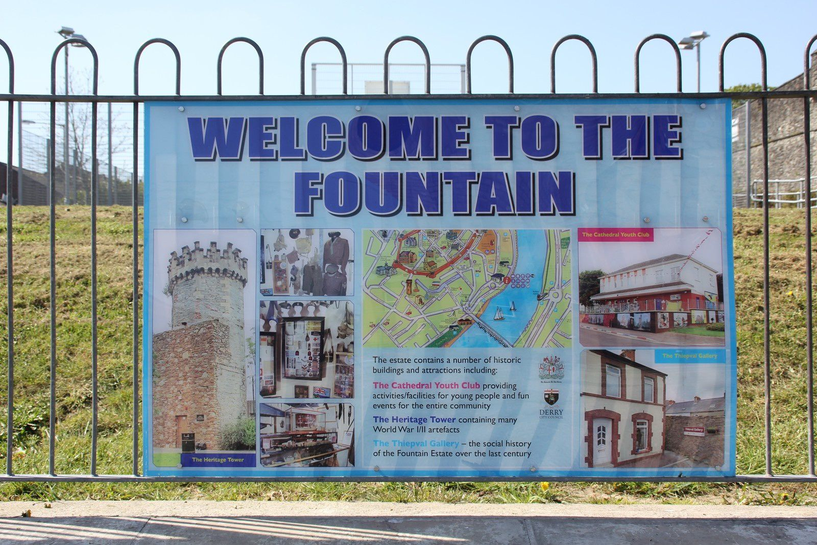 537) The Fountain area Derry/Londonderry