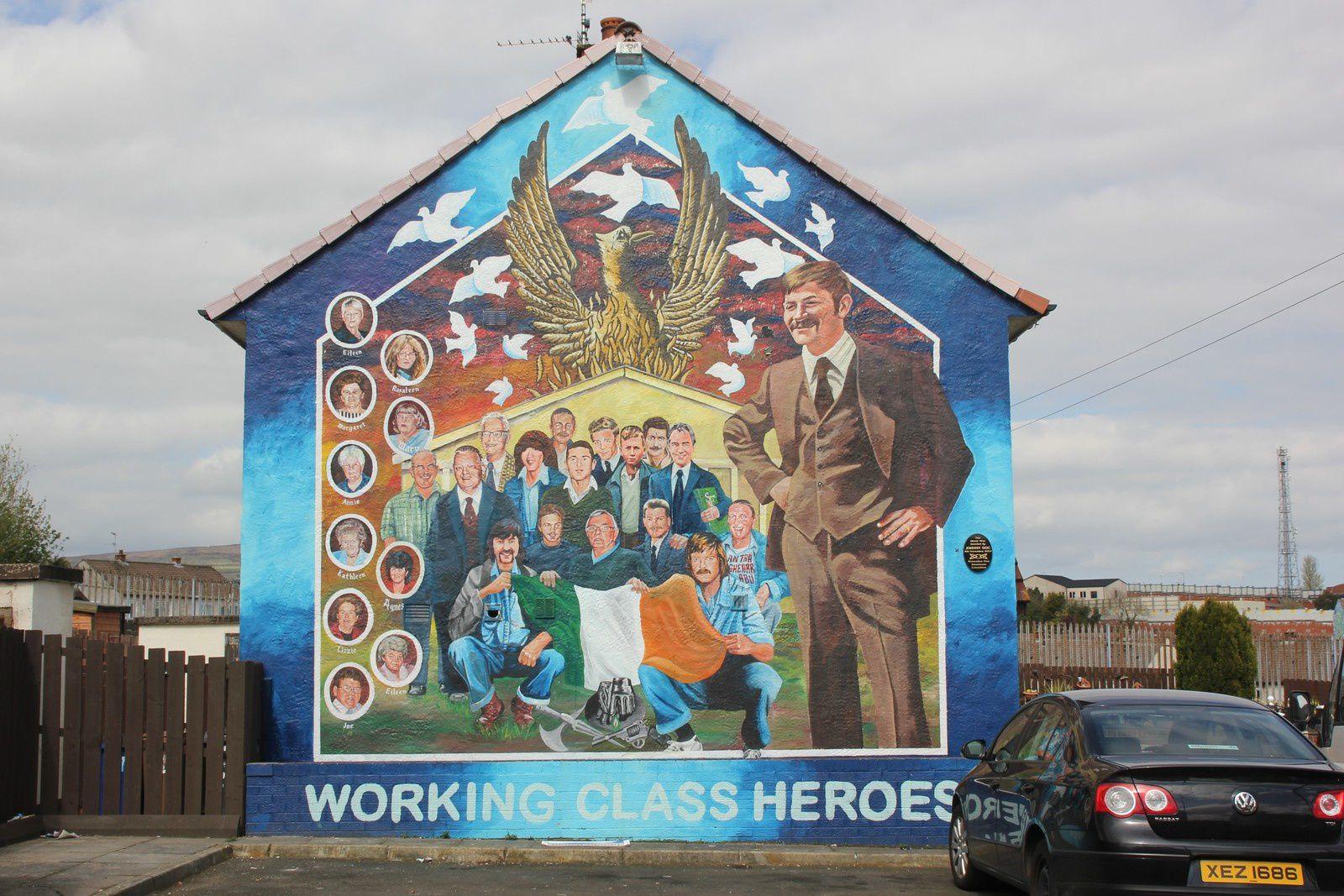 604) Ballymurphy road, West Belfast