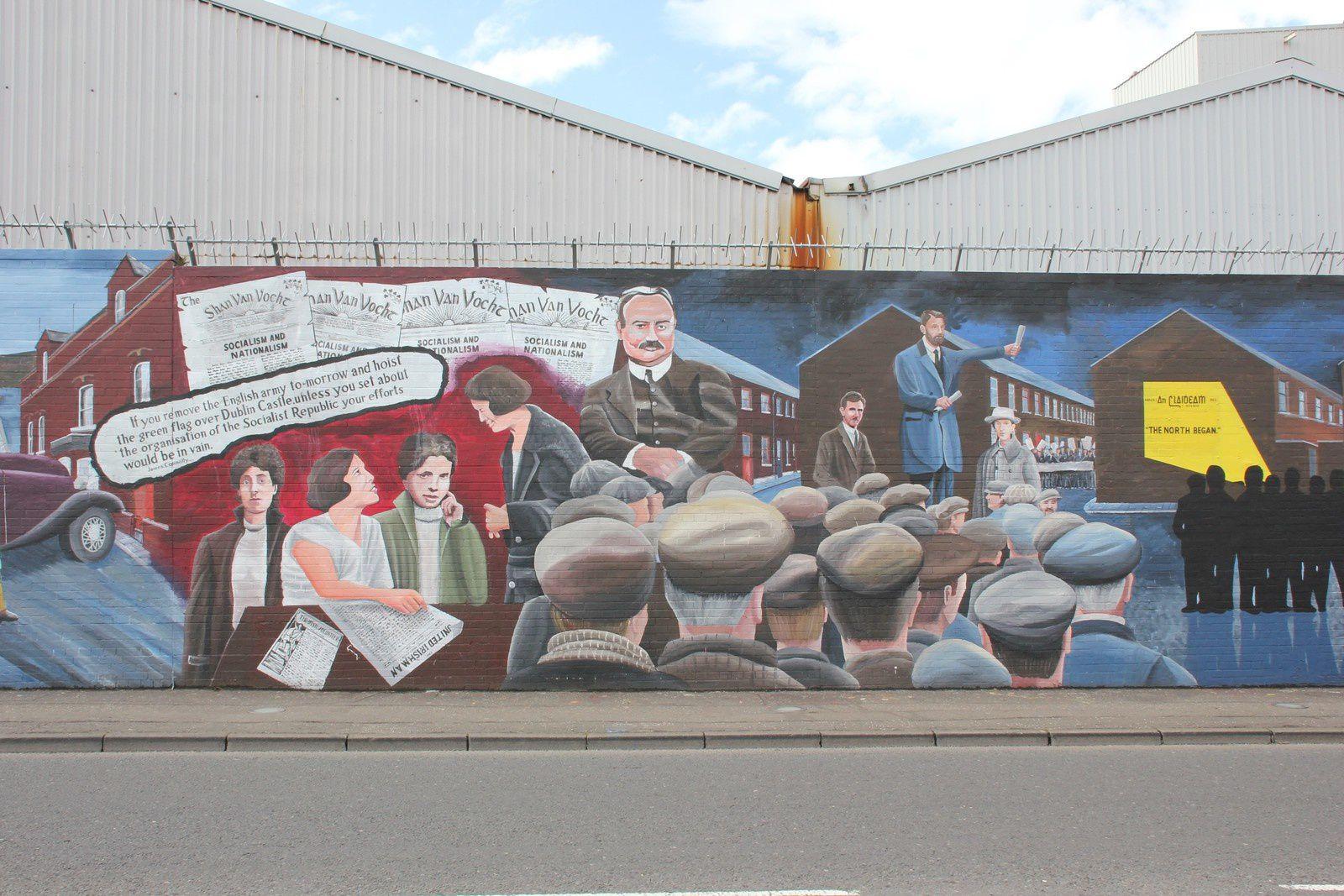 685) Divis Street, international Wall