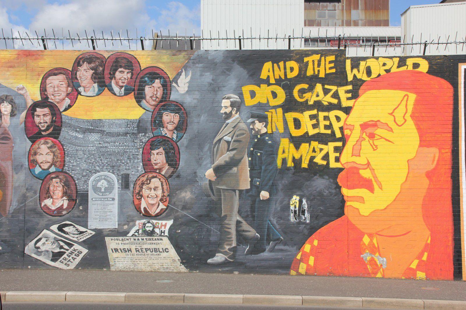 804) International Wall, Divis Street, West Belfast