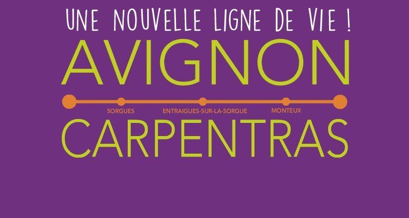 Ligne Avignon Tgv - Carpentras : ouverture le samedi 25 avril 2015