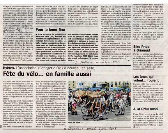 Mesures de pollution en PM2,5 le 9 juin à Toulon