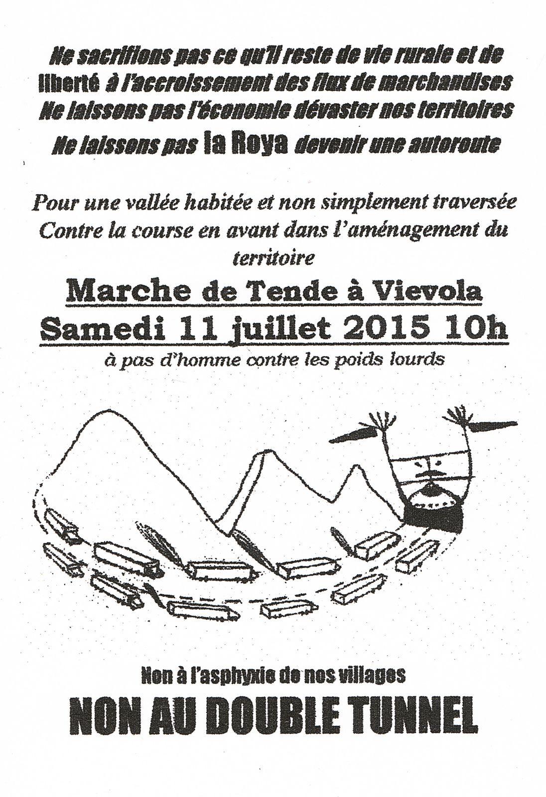 Rassemblement Samedi 11 Juillet à TENDE