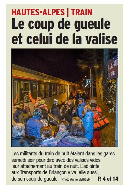 """Action """"Valises"""""""