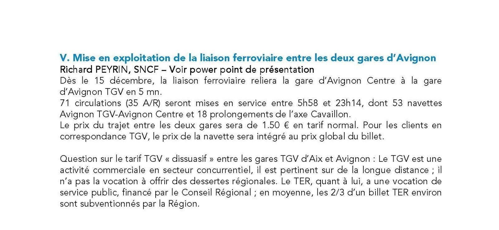 Cr RENCONTRE SNCF - ASSOCIATIONS USAGERS ET CONSOMMATEURS