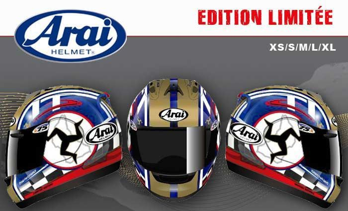 TT Arai 2015 limited édition.