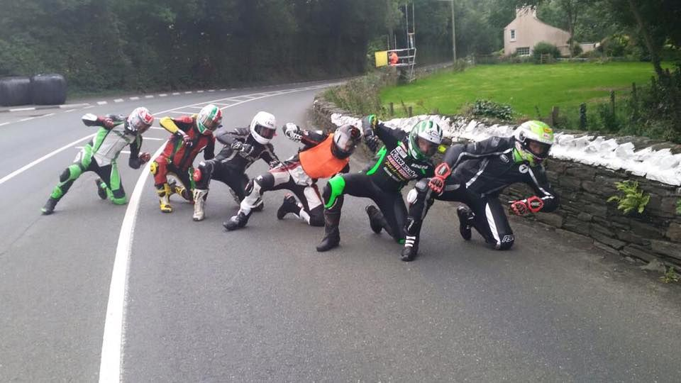 Racers just want to have fun..