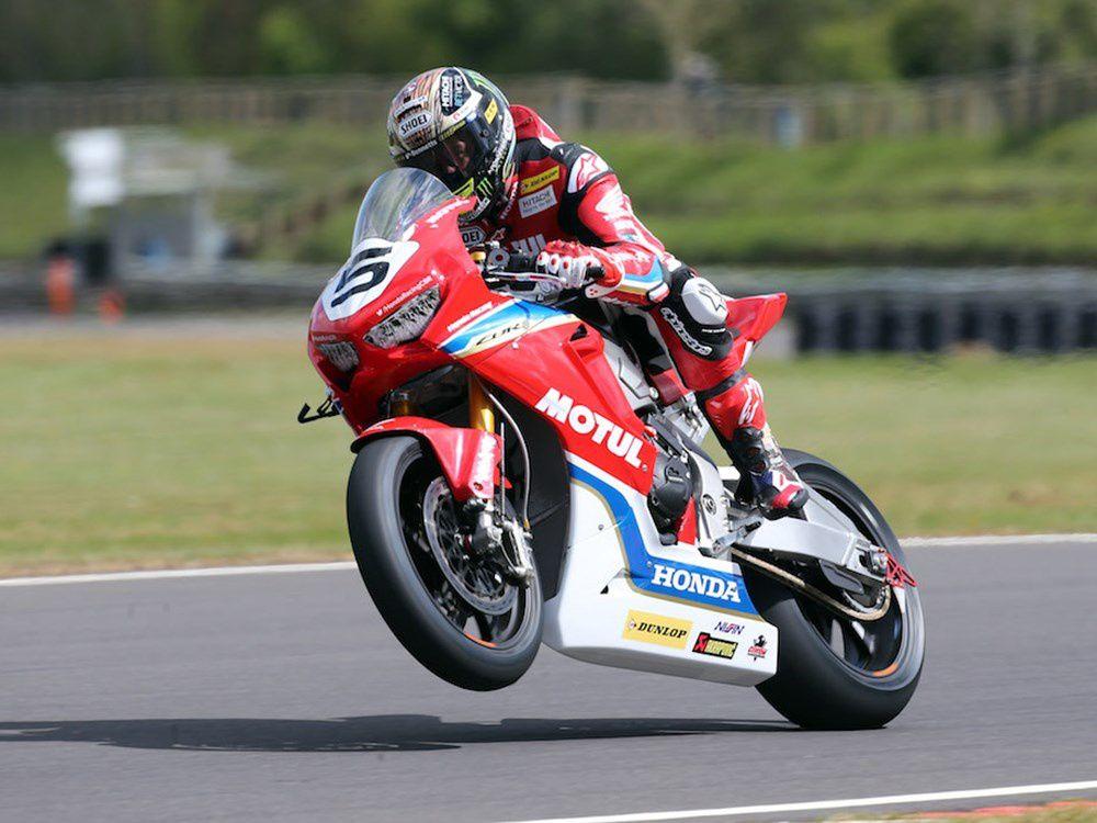 Le team Honda UK dévoile ses couleurs pour le TT