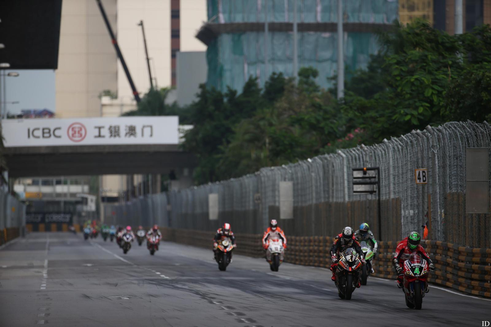 Macao: photos de la course