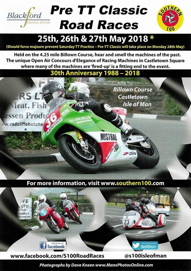 Une french touch au pre TT Classic  2018
