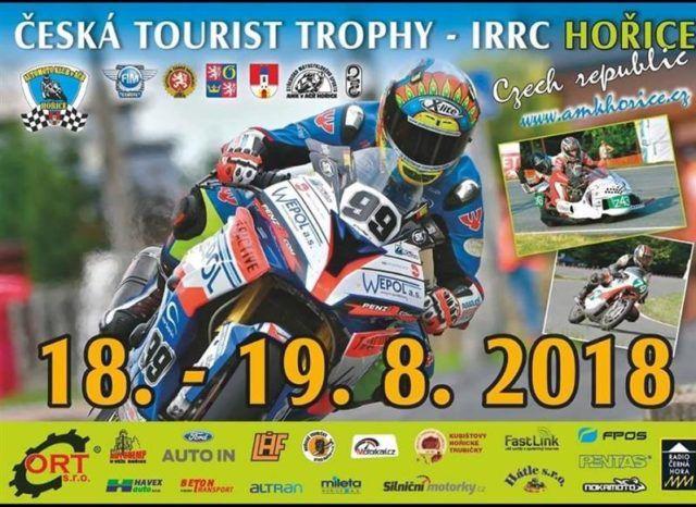 Nouvelle étape du championnat IRRC en République Tchéque.