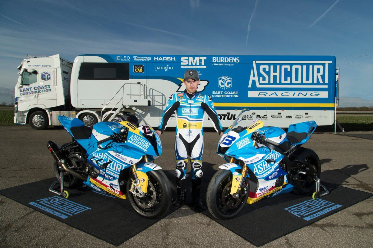 Lee Johnston roule pour Ashcourt Racing