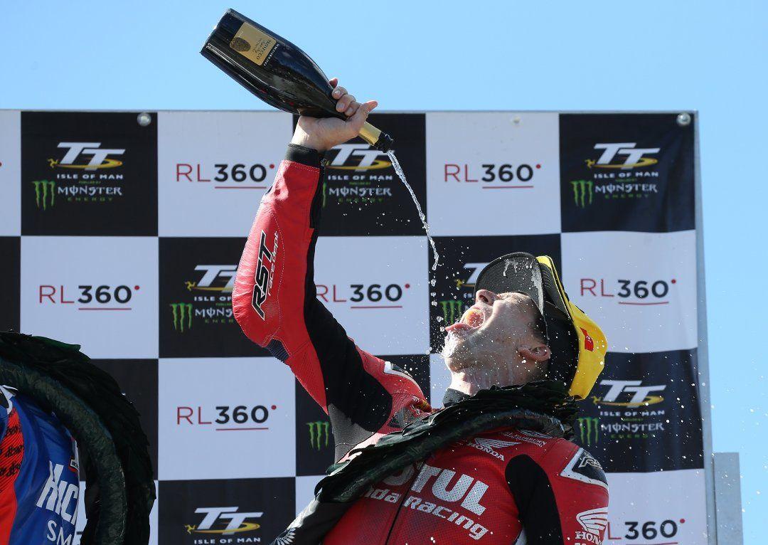 David Johnson s'offre son premier podium au TT ©pacemaker