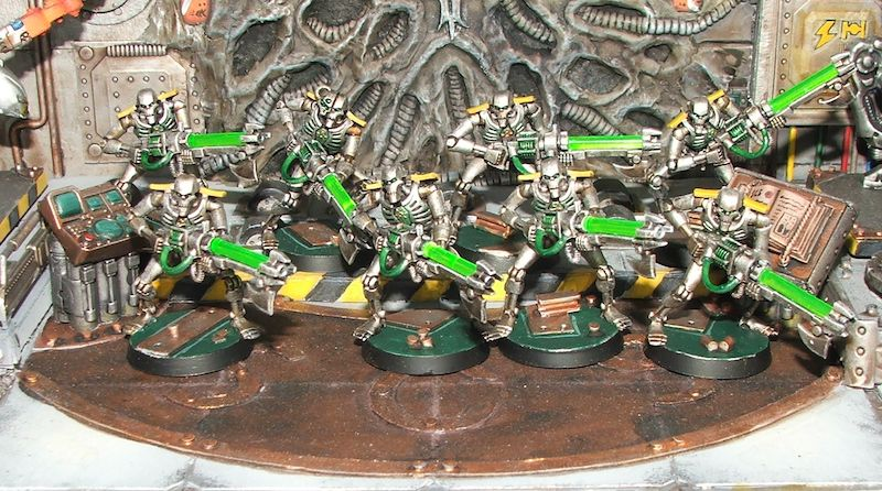Space Crusade - Imperial Fists et Necrons