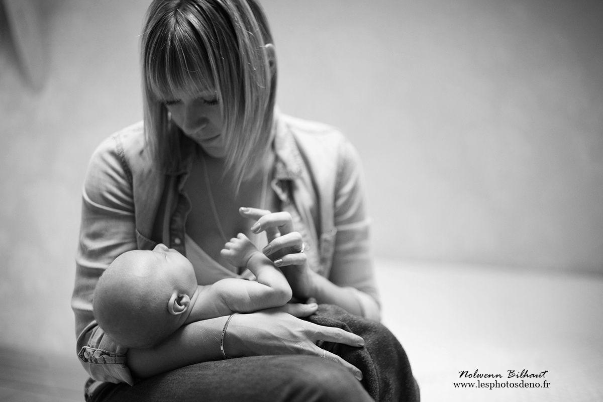 Photos naissance Ain, au studio de Nolwenn Bilhaut photographe
