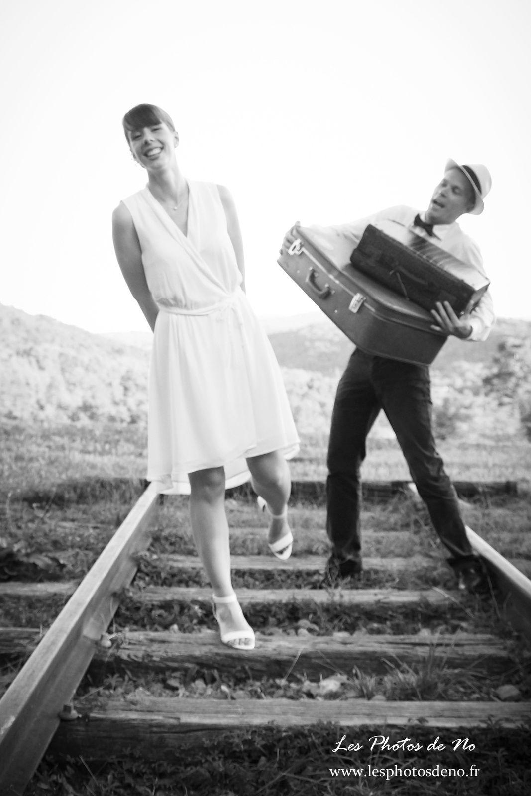 Day after dans le Revermont 01, Séance photo en couple de mariés après le mariage
