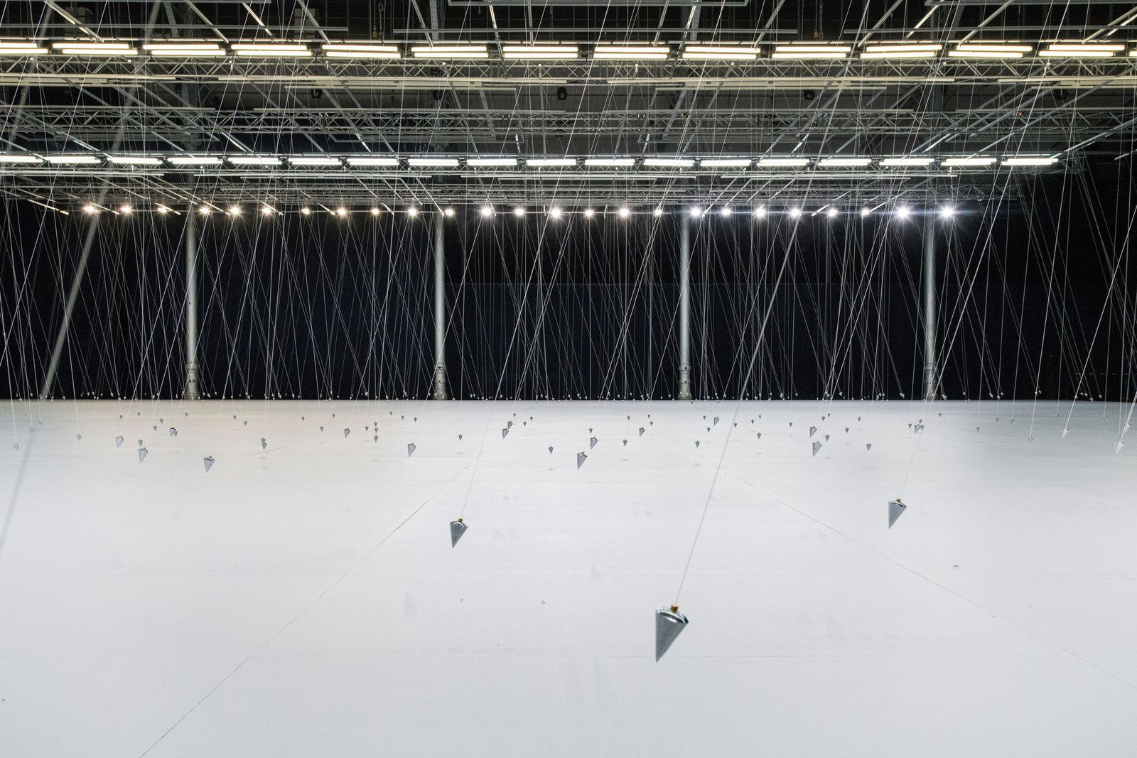 Nowhere and Everywhere at the Same Time, No2. 2013 - Artwork © William Forsythe. Photography ©Martin Argyroglo, Courtesy Gagosian