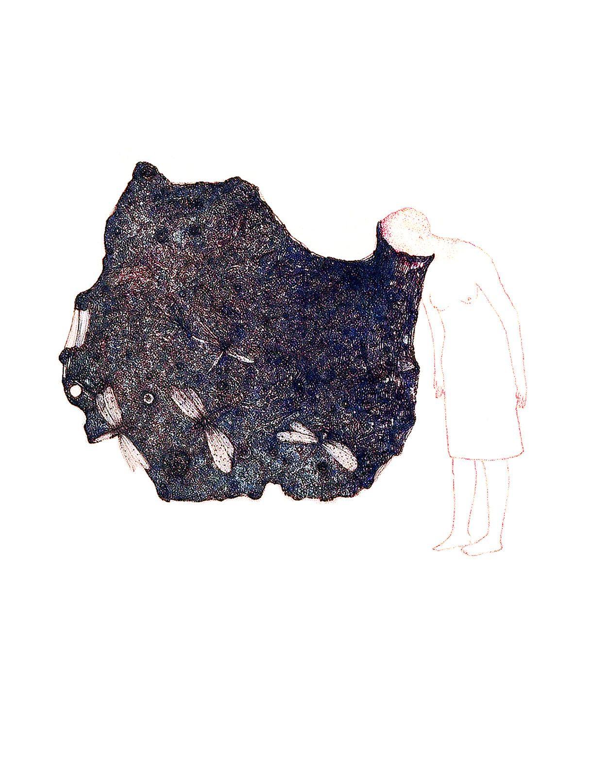 Dessins de mémoire - un désir sous l'image, exposition de Nathalie Tacheau : une oeuvre entre rêverie et souvenirs