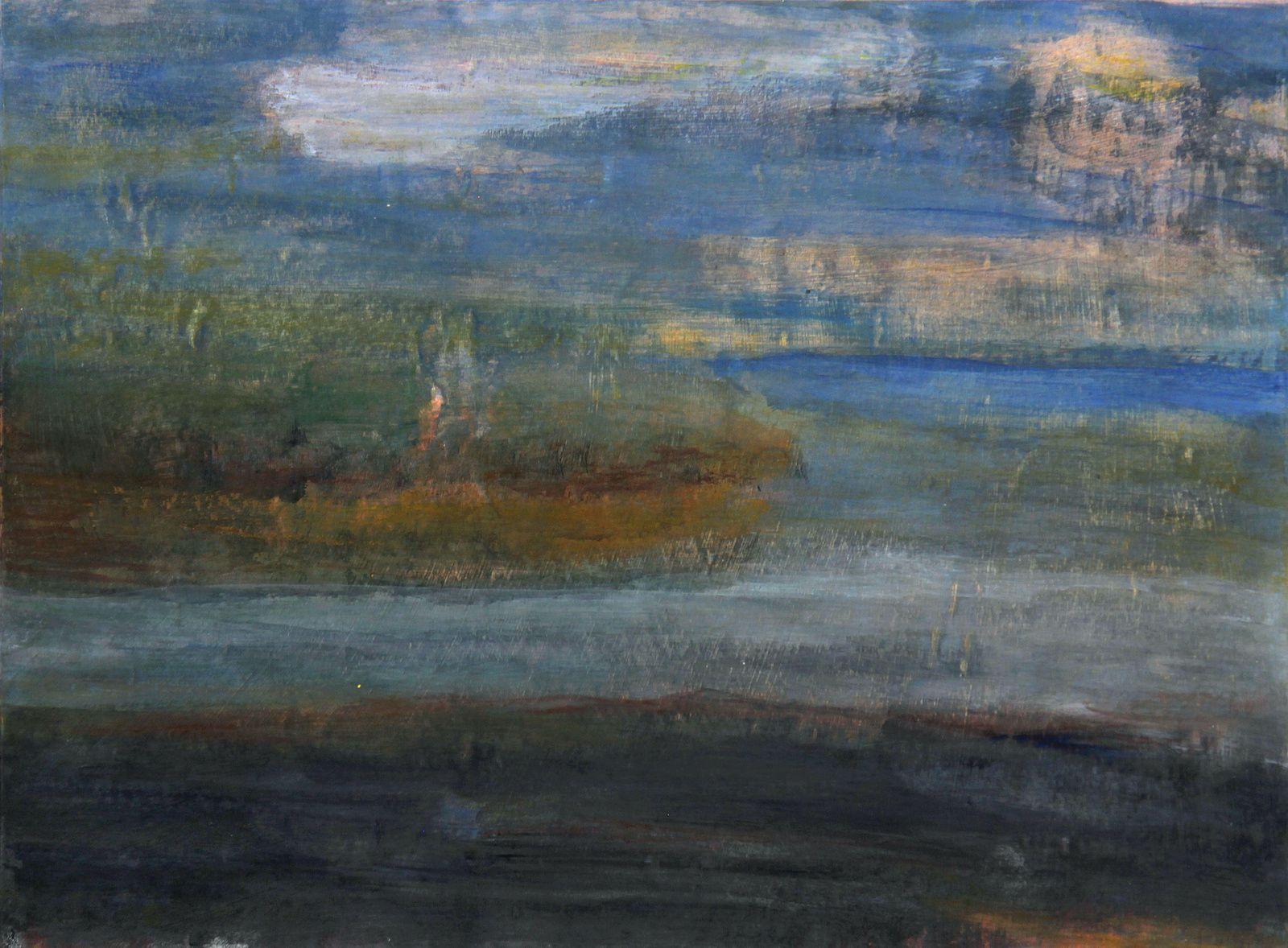 Les baltiques, exposition de Claudine Remy : Réminiscences de paysages