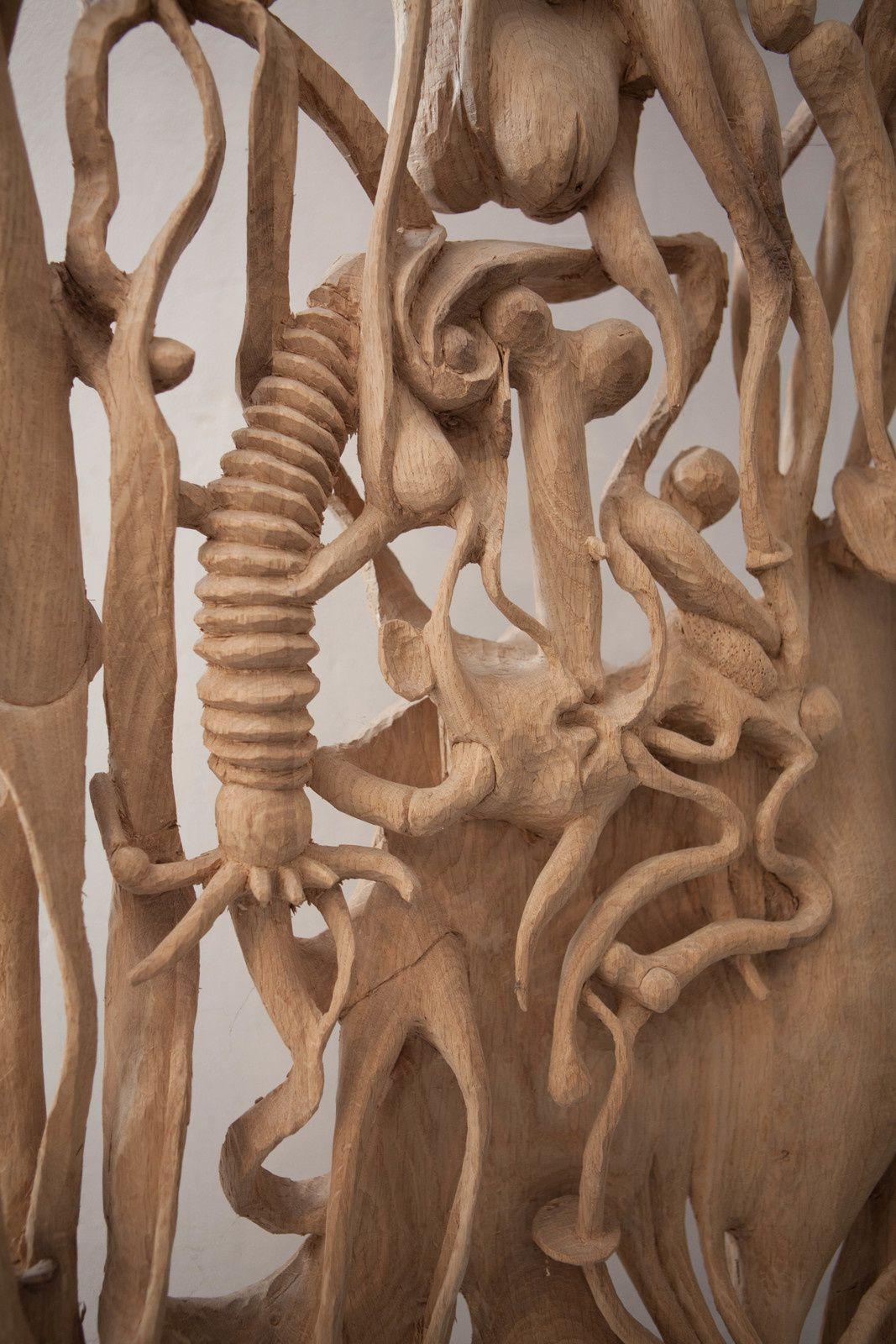 Anamorphose, exposition de Célestin Pierret à la chapelle St-Roch : une sculpture en osmose avec l'architecture