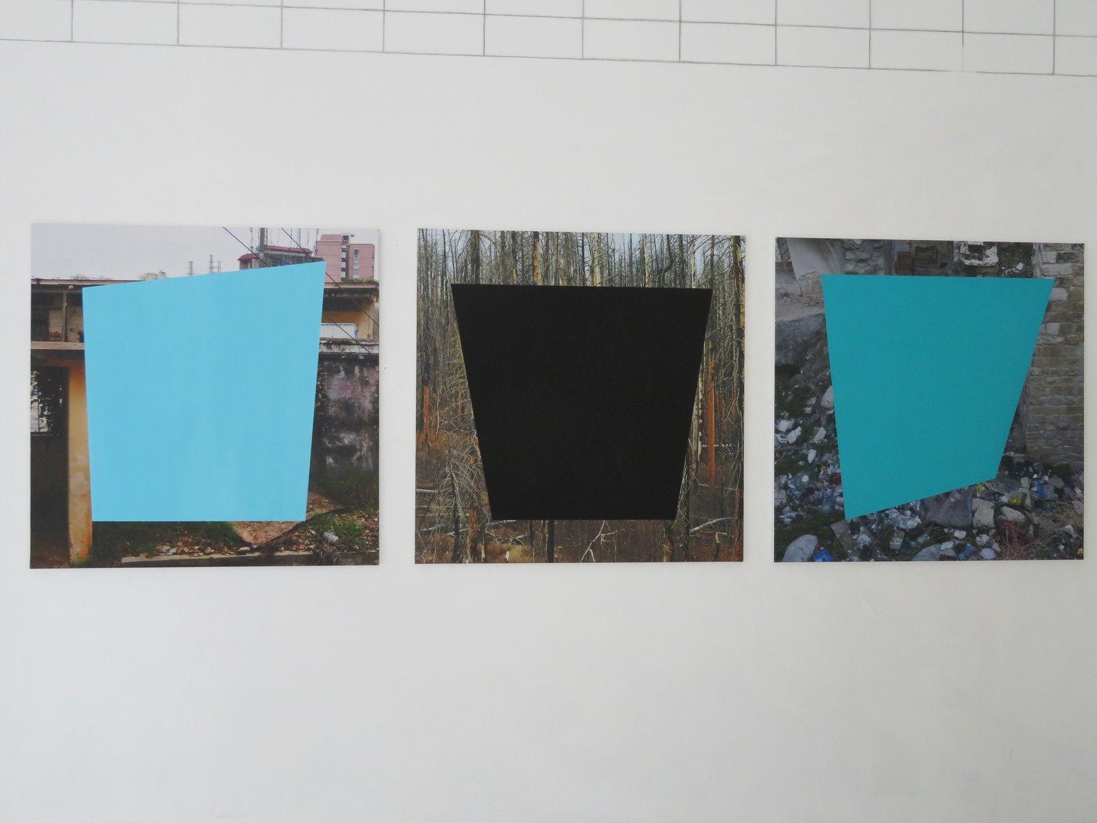 Exposition Vers le sens de la rue de Chimène Denneulin : De la photographie vers des déconstructions de l'espace par la couleur