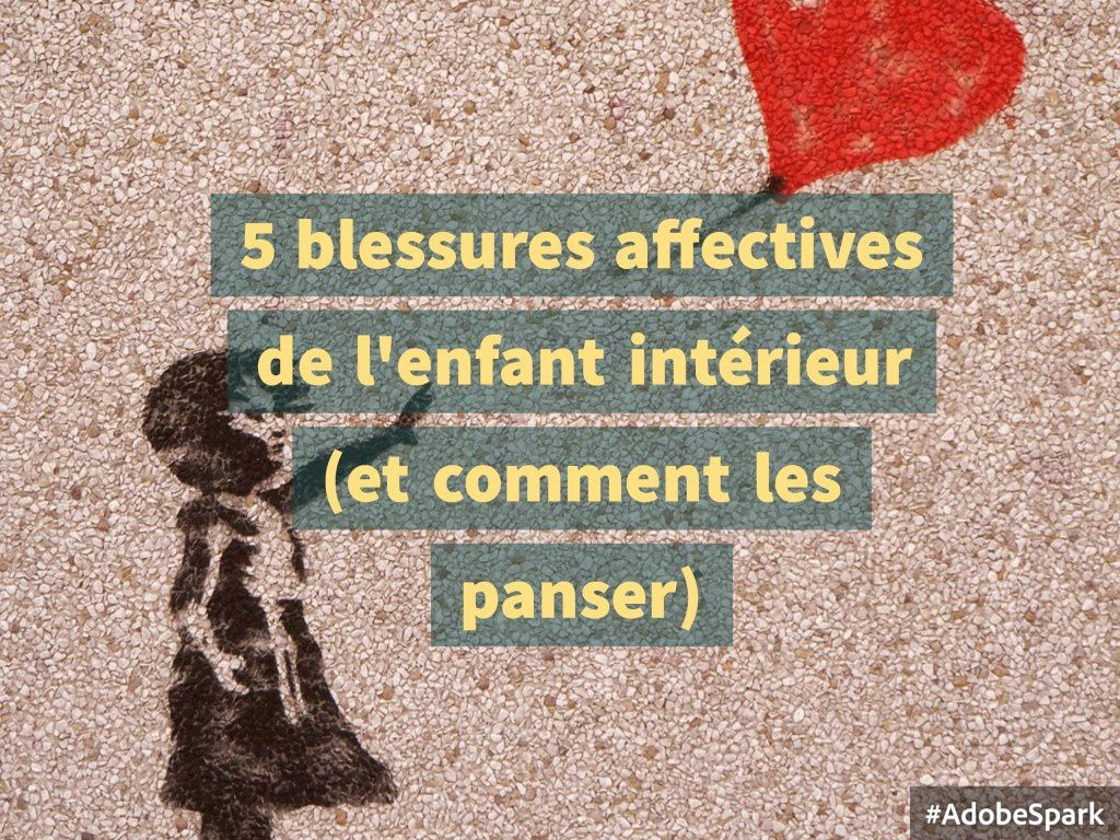 blessures psychoaffectives