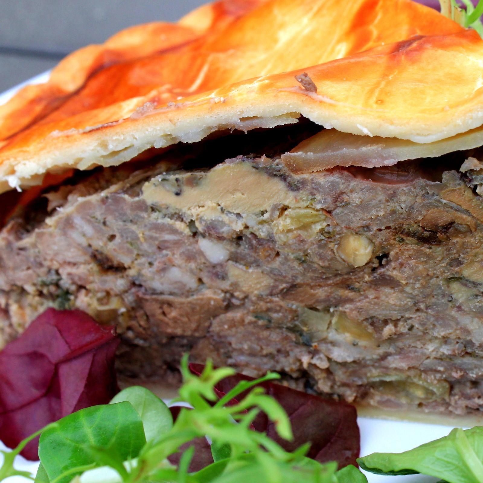 Tourte Gasconne Foie gras et Armagnac