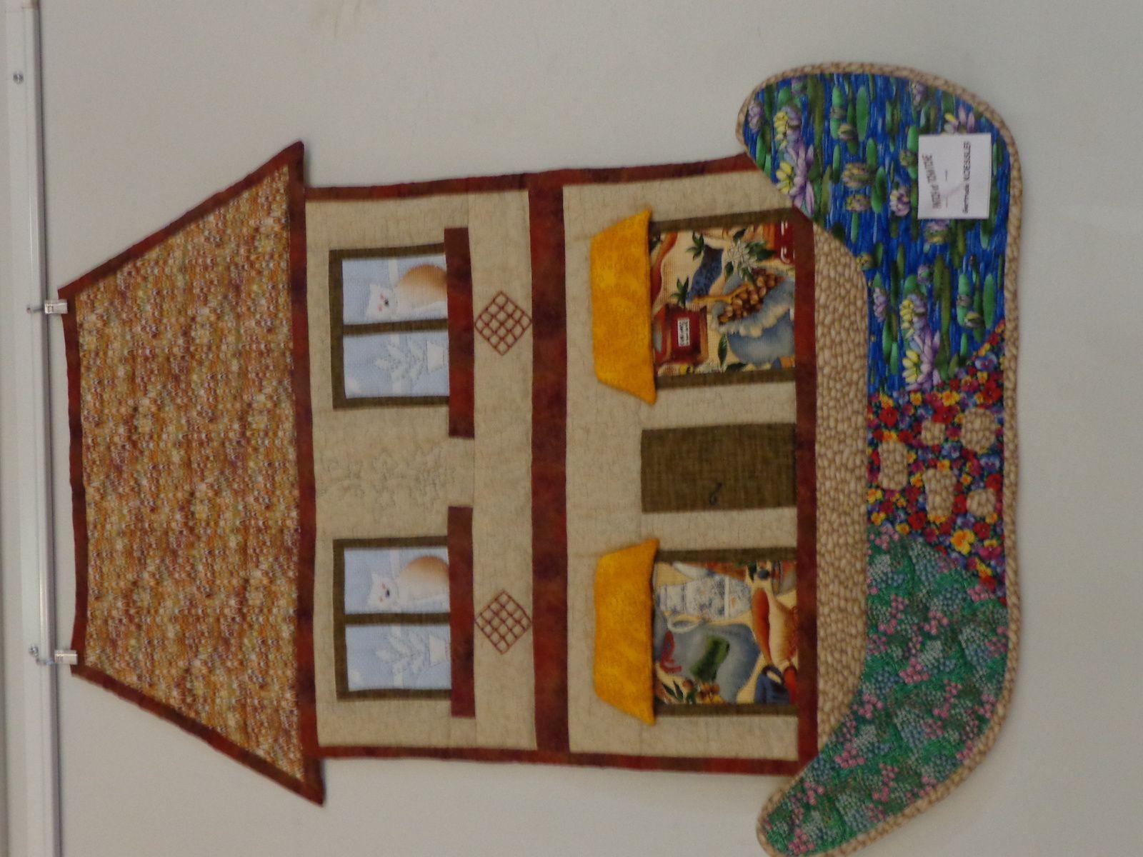 Exposition de patchwork à Béblenheim