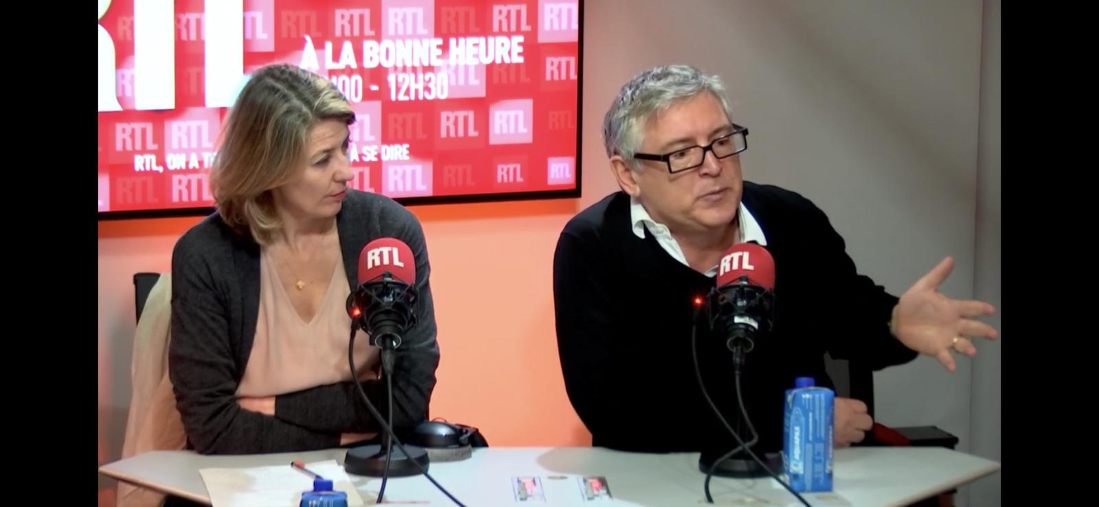 Michel Onfray - A la bonne heure (RTL) - 26.11.2019