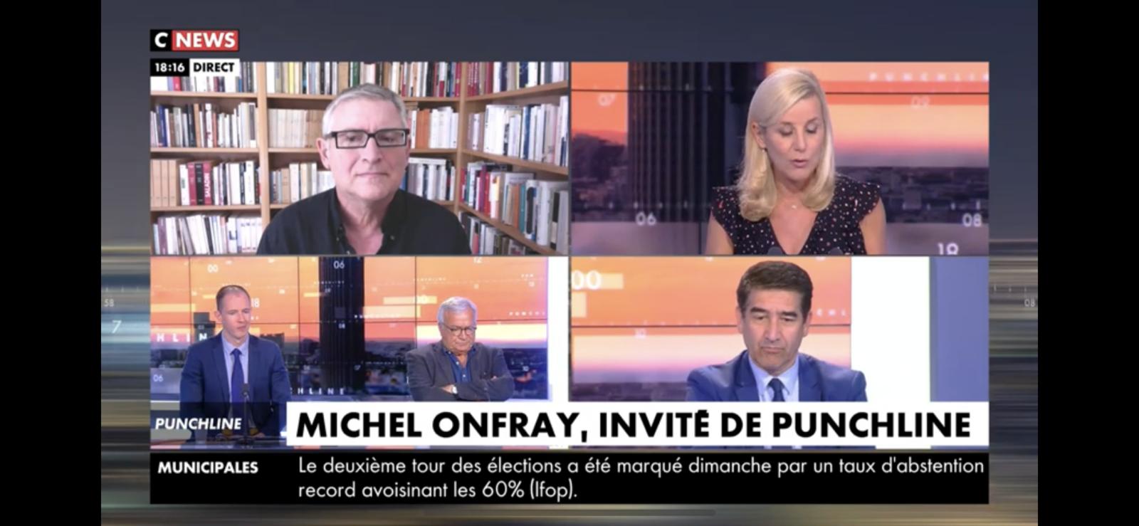 Michel Onfray - Punchline (CNews) - 29.06.2020