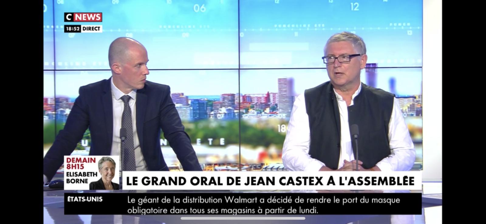 Michel Onfray - Punchline (CNews) - 15.07.2020
