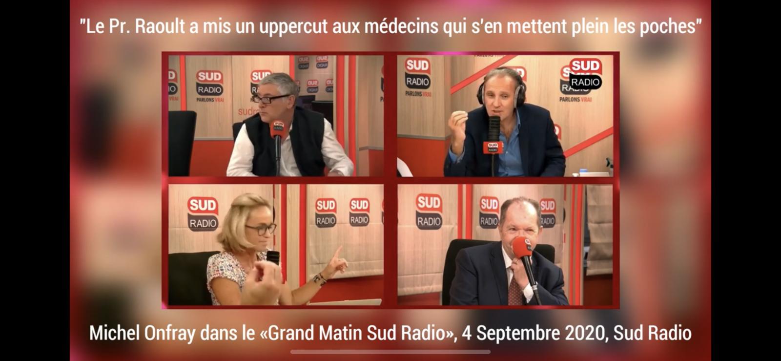 Michel Onfray - La Grande Matinale de Sud Radio (Sud Radio) - 04.09.2020
