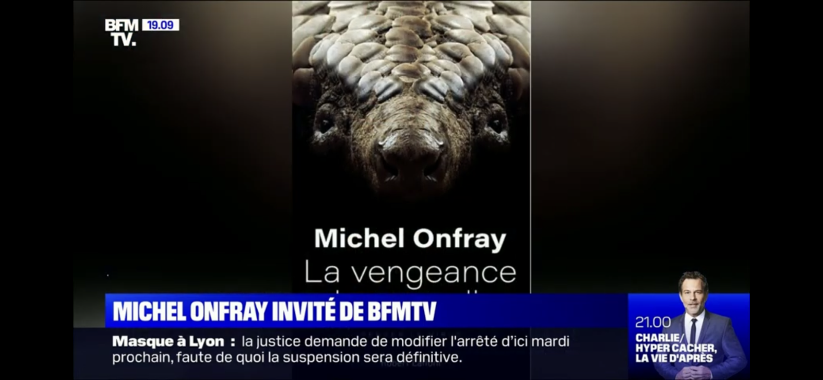 Michel Onfray - V.S.D. (BFMTV) - 05.09.2020