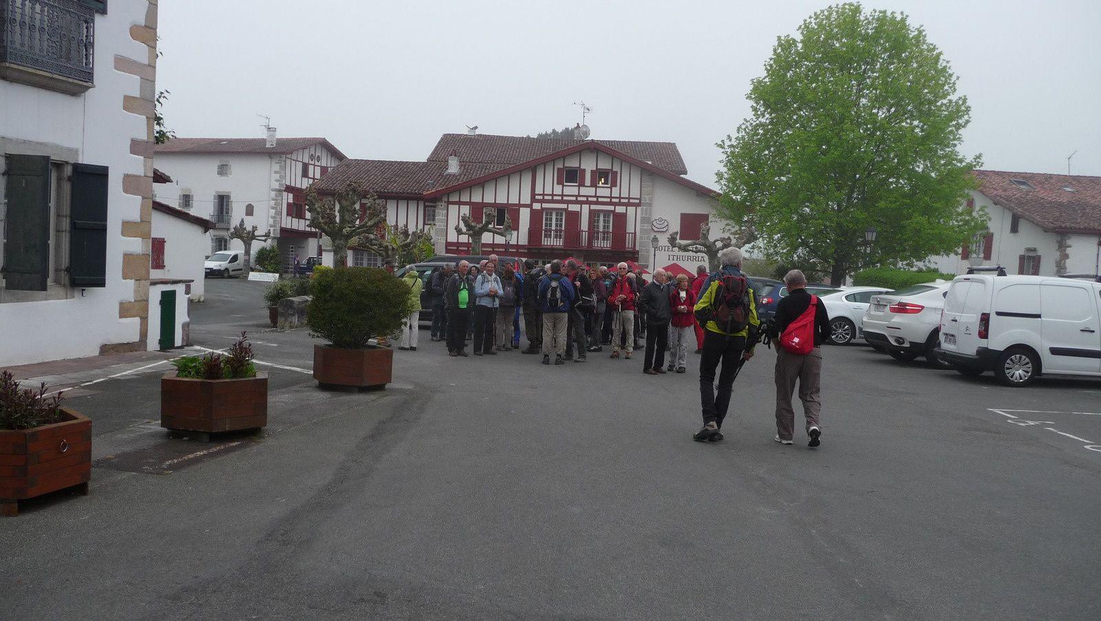 Visite du village Basque d'Aïnhoa.