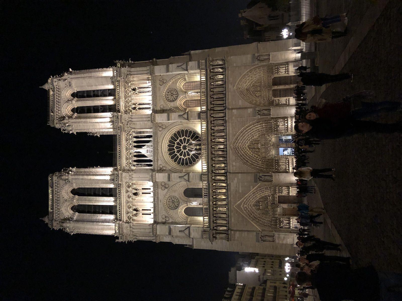 Notre Dame de Paris , 29 mars 2019