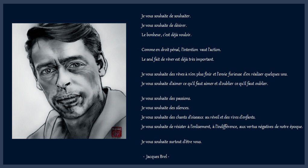 Extrait interview Jacques Brel sur Europe 1 en 1968  -  (un clic s/image pour agrandir)