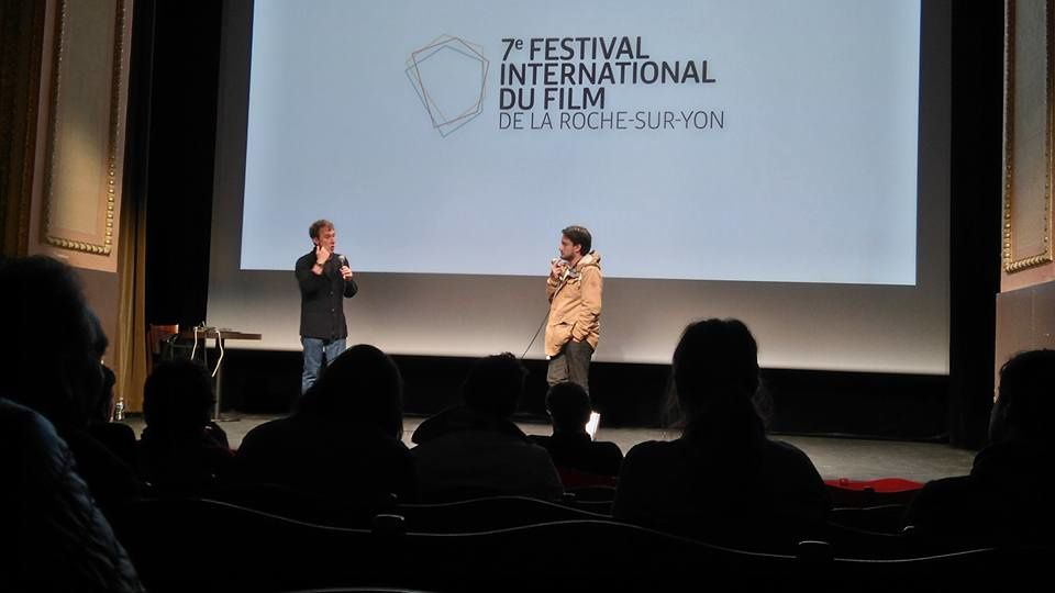 "Entretien entre Bertrand Bonello et Morgan Pokée à l'issue de la projection de ""Fantôme""."
