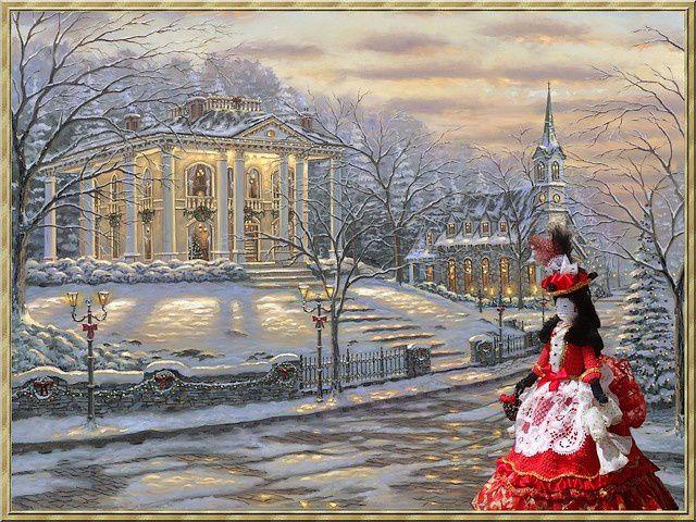 Noël en 1870