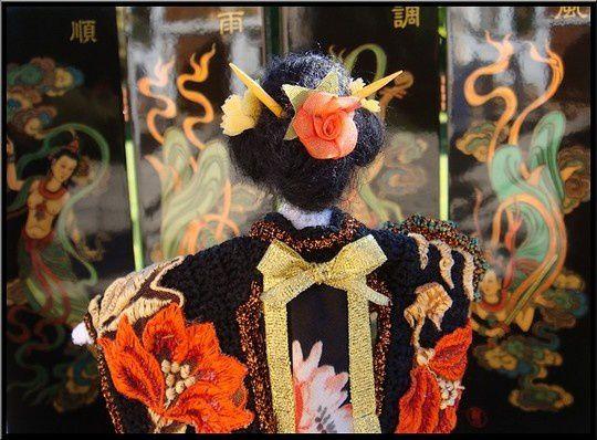 La Geisha et son paravent