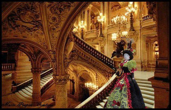 Petite tenue pour l'opéra