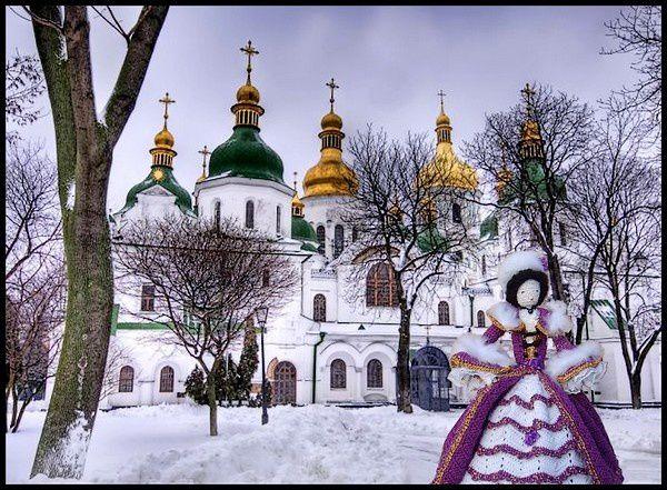Un hiver en Ukraine...