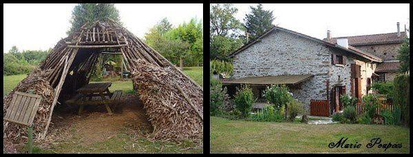 Cabane du Feuillardier et ma petite maison de campagne