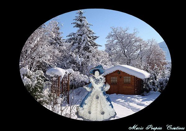 Tenue d'hiver pour ma poupée