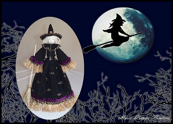 Halloween , la poupée sorcière